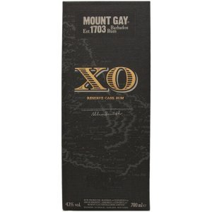 Coffret du Mount Gay XO (Barbade)