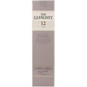 Coffret du Whisky The Glenlivet 12 ans