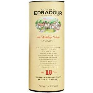 Etui du whisky Edradour 10 ans