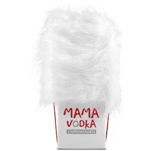 "Mama vodka dans son coffret ""fourrure"""