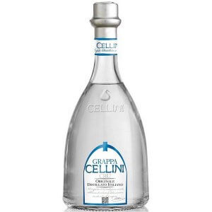 Grappa Cellini Cru - Eau de vie traditionnelle d'Italie