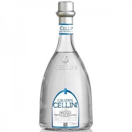 Grappa Cellini Cru - Eau de vie traditionnelle d'Italie