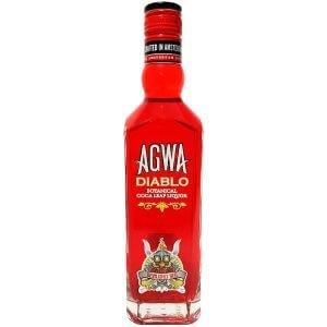 Liqueur Agwa Diablo à la feuille de coca