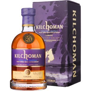 Whisky Kilchoman Sanaig Single Malt Tourbé