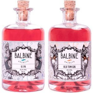 Pack Gin + Old Tom Gin Balbine Spirits