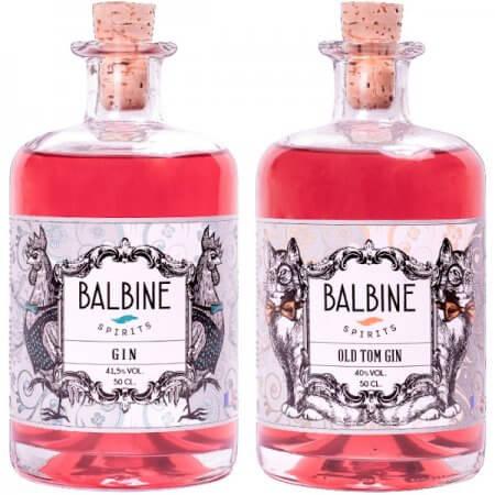 Pack Gin + Old Tom Gin Balbine Spirits