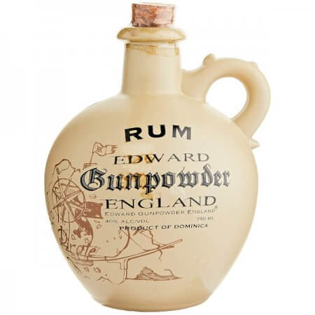Rhum Edward Gunpowder England