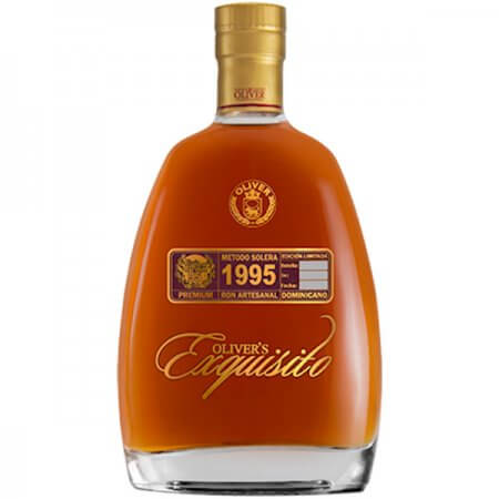 Rhum Oliver's Exquisito 1995 - République Dominicaine