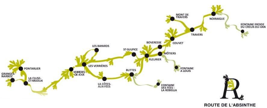 La route de l'absinthe