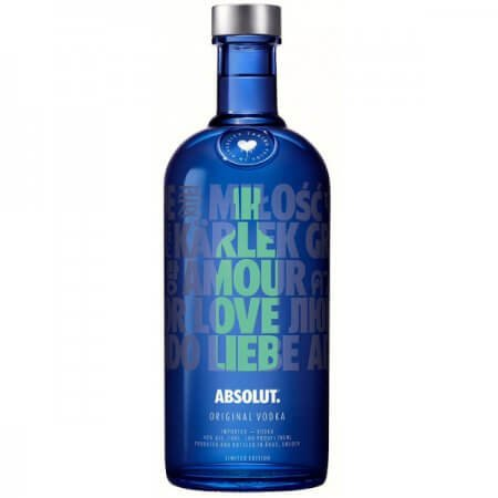 Absolut Vodka - Love Edition - Coloris Vert