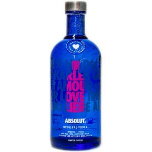 Absolut Vodka - Love Edition - Coloris Rose