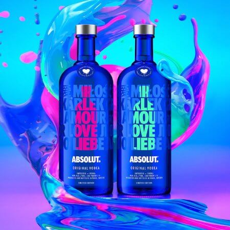 Absolut Vodka Love Edition - 2 Coloris