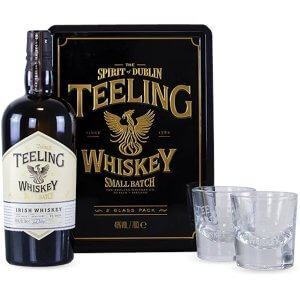 Coffret Whisky Teeling Small Batch avec 2 verres