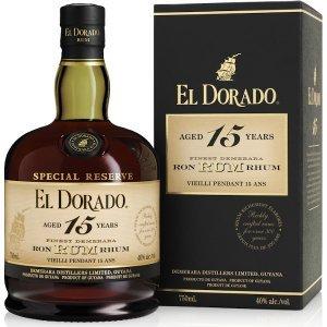 Rhum El Dorado 15 ans - Special Reserve