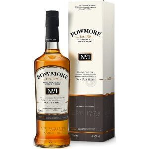 Whisky Bowmore N°1 - Très tourbé