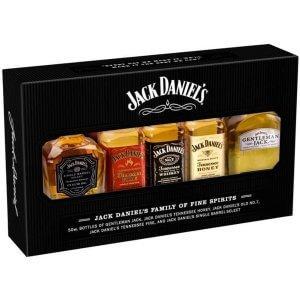 Jack Daniel's Coffret de 5 mignonnettes