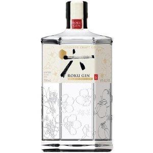 Roku Gin - Gin distillé du Japon