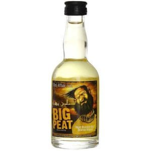 Whisky Big Peat - Mignonnette 5cl