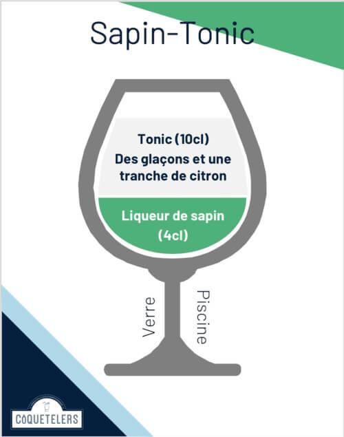 Cocktail Sapin - Tonic