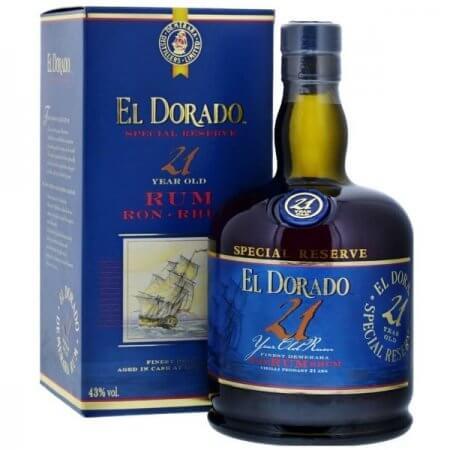 Rhum El Dorado 21 ans