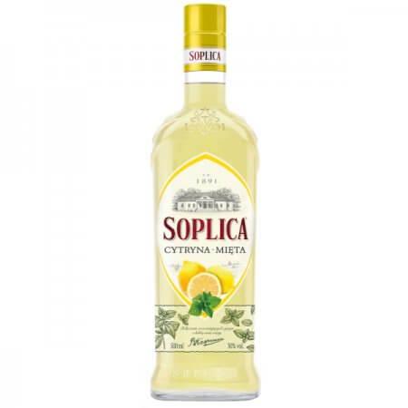 Liqueur Soplica Citron Menthe