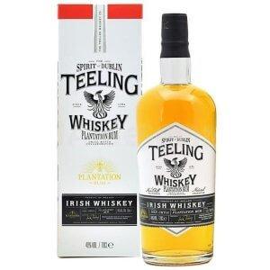 Whisky Teeling Finish en fûts de Rhums Plantation