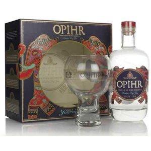 """Gin Opihr - Coffret avec verre """"Globe"""""""