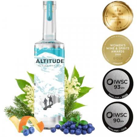 Altitude Gin - Gin médaillé