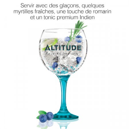 Idée Cocktail - Altitude Gin
