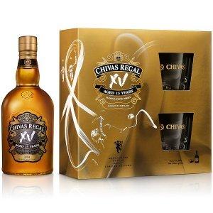 Whisky Chivas XV - Coffret avec 2 verres