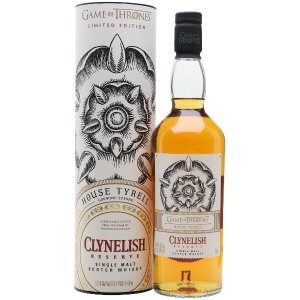 Whisky Clynelish Reserve - Maison Tyrell Game of Thrones