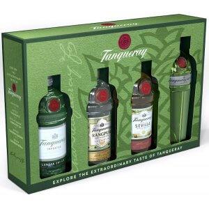 Coffret 4 Mignonnettes Gin Tanqueray