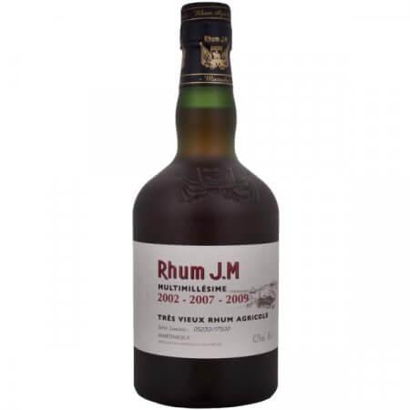 Rhum J.M. Multimillésime 2002-2007-2009