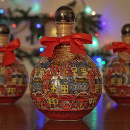 Vodka Chopin - Boule de Noël Rouge