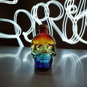 "Vodka Crystal Head Pride Edition ""Light Painting"""
