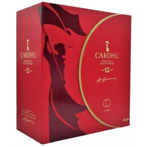Coffret Whisky Cardhu 12 ans avec 2 verres