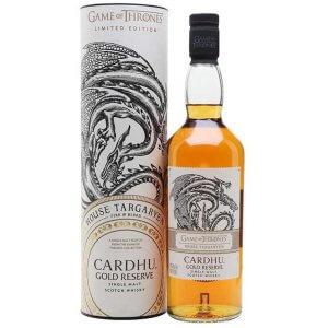 Whisky Cardhu Gold Reserve – Maison Targaryen Game of Thrones