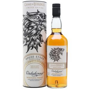 Whisky Dalwhinnie Winter's Frost - Maison Stark Game of Thrones