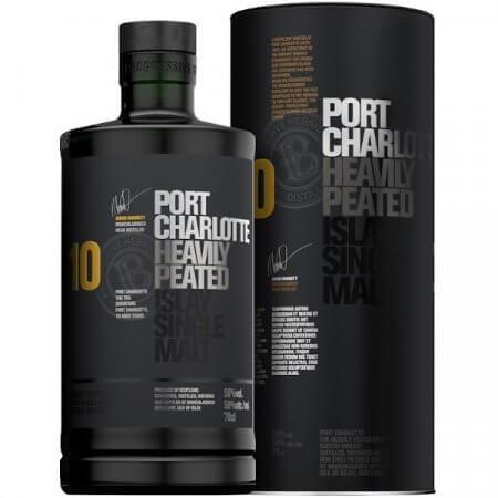 Whisky Port Charlotte 10 ans