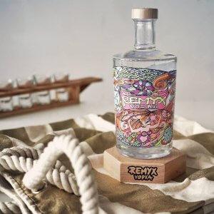 Remyx Vodka Aquatique - Vodka française