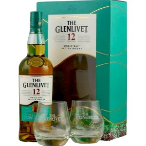 The Glenlivet 12 ans + 2 verres
