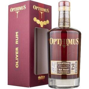 Rhum Opthimus 25 ans Solera - Finition Malt Whisky