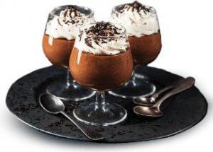 Mousse au chocolat (Soplica Noisette-Chocolat)