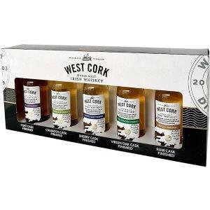 Coffret Mignonnettes West Cork Cask Collection