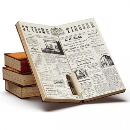 Calendrier de l'Avent A.H. Riise et Santos Dumont